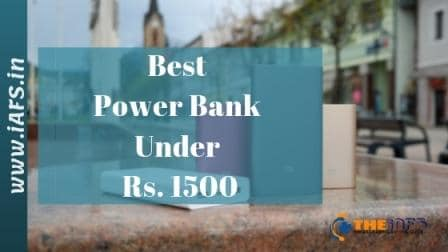 Best Power Bank Under 1500