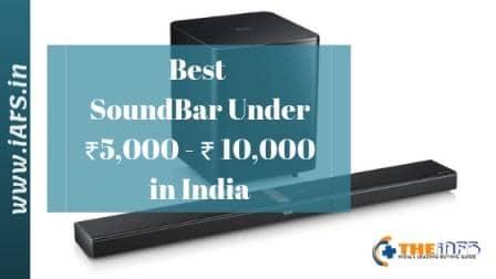 Best Sounbar in India under 10000