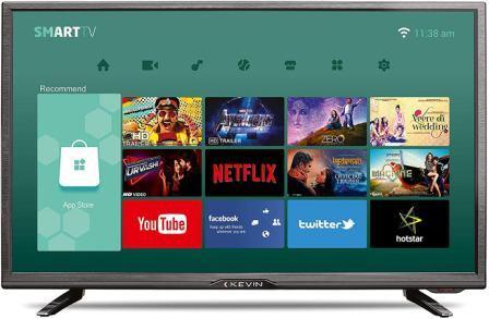 Kevin 32 Inch HD Ready Smart LED TV (K32CV338H)
