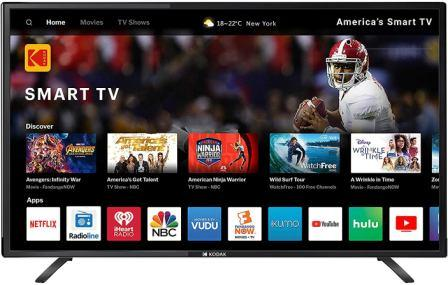 Best TV Under 15000, Kodak 40 inch Full HD LED Smart TV (40FHDXSMART )