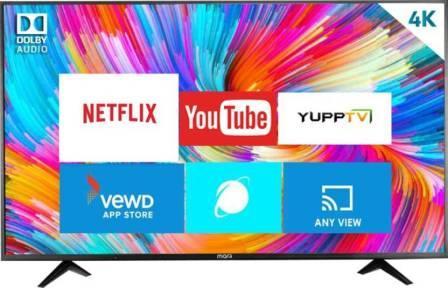 MarQ 55-inch Ultra HD Smart LED TV (55HSUHD) By Flipkart
