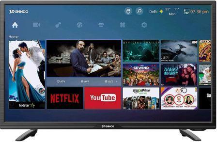Shinco 32 Inch HD Ready Smart LED TV (SO32AS)