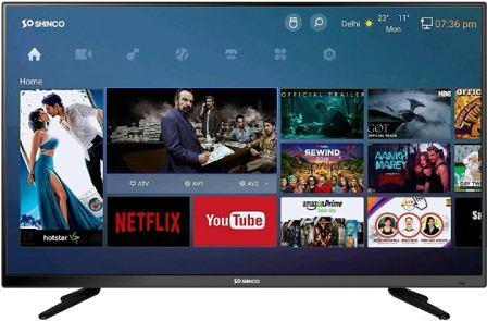 Best LED TV Under 15000, Shinco 40 Inch Full HD LED Smart TV (SO42AS-E50)