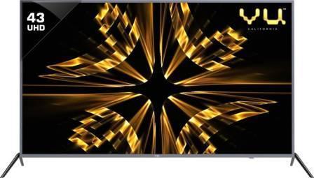 Vu Iconium 43 inch UHD (4K) LED Smart TV (43BU113)