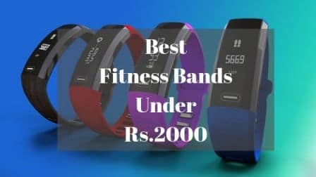 Best Fitness Band Under Rs 2000