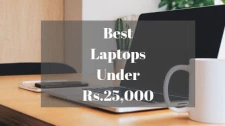 Best Laptops Under Rs 25000
