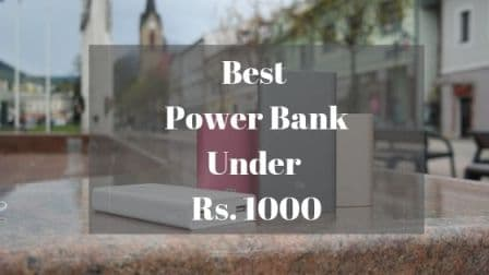 Best Power Bank Under Rs 1000