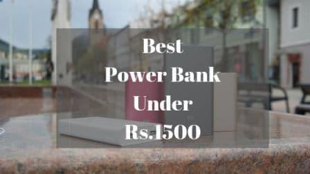 Best Power Bank Under 1500