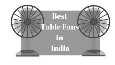 Best Table Fan in India