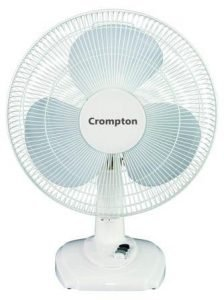Betst Table Fans in India 2020, Crompton Greaves High Flo Eva 400mm Table Fan