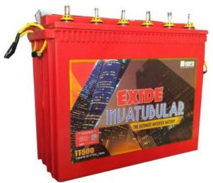 Exide IT-500 150AH Tall Tubular Battery is the Best Inveter Battery in India 2021 for Home Use