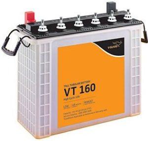 V-Guard VT160 150 mAh Inverter Tubular Tall Battery