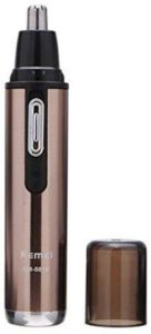 Kemei Km6619-110-220V Safe Stainless Rechargeable Nose and Ear Hair Removal Trimmer
