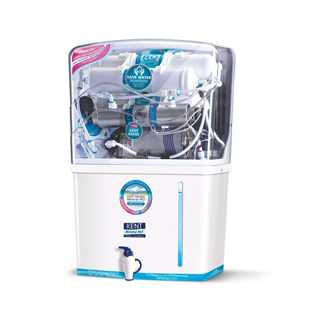 How to clean the Kent water purifier