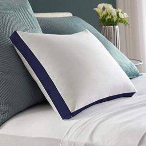 Blue Horse Micro Fiber Gusset Pillow