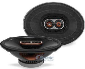 Infinity 3-Way Audio Car Speaker with Edge-Driven