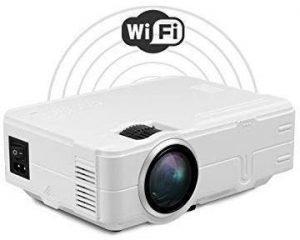Jambar JP-04 HD LED Projector with Wifi