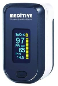 MEDITIVE Fingertip Pulse Oximeter