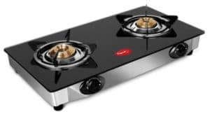 Pigeon by Stovekraft Favorite 2-Burner Glass Top Gas Stove