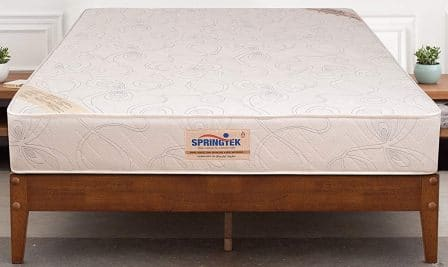 Springtek Ortho Pocket Single Bed Pocket Spring and High-Density Foam Mattress