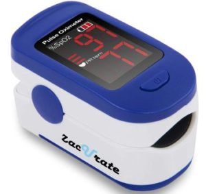 Zacurate® 400B Fingertip Pulse Oximeter Blood Oxygen Saturation Monitor