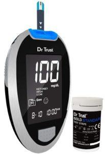 Dr. Trust (USA) Fully Automatic Blood Sugar Testing Glucometer Machine