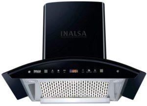 Inalsa 60 cm 1250 m3 hr Filter-less Auto-Clean Pyramid Kitchen Chimney
